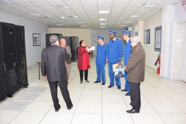 زيارة مجاملة لوفد من خلية الاتصال والصحافة لمقر الديوان الوطني للأرصاد الجوية