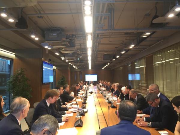 شاهد: انطلاق اجتماعات اللجنة الحكومية الفلسطينية الروسية في موسكو