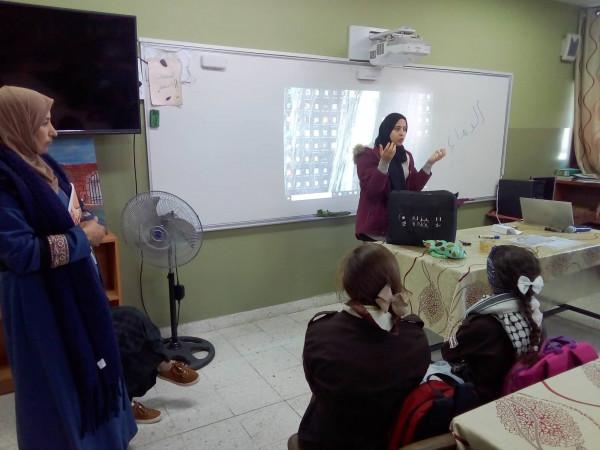 """بنات رأس عطية تنفذ لقاءً علمياً بالتعاون مع """"النيزك"""" ضمن أيام العلوم"""