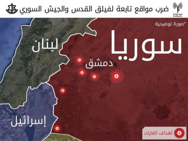 شاهد: المنشآت السورية قبل وبعد الغارات الإسرائيلية الأخيرة
