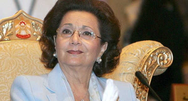 سوزان مبارك في العناية المركزة.. وتكتم حول التفاصيل