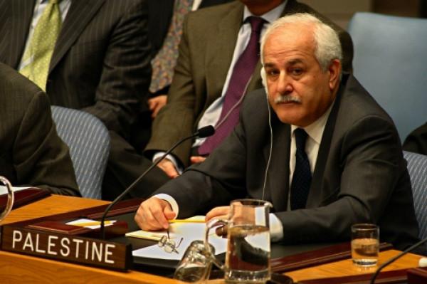 رياض منصور يثمن الدعم الدولي للقضية الفلسطينية في جلسة مجلس الأمن