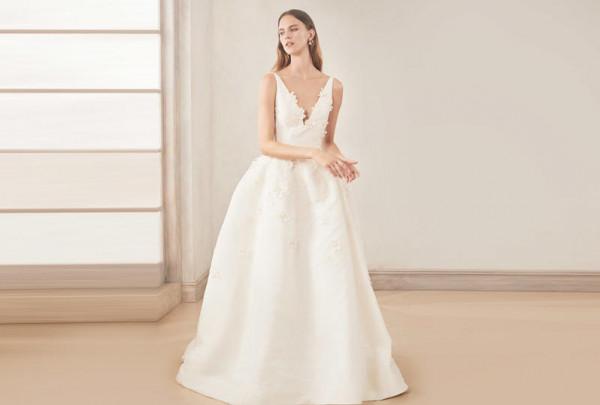 فساتين زفاف تخفي الأرداف لعروس2020