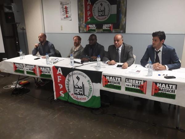 سفارة فلسطين بفرنسا تشارك في عدة أنشطة تضامنية مع القضية الفلسطينية