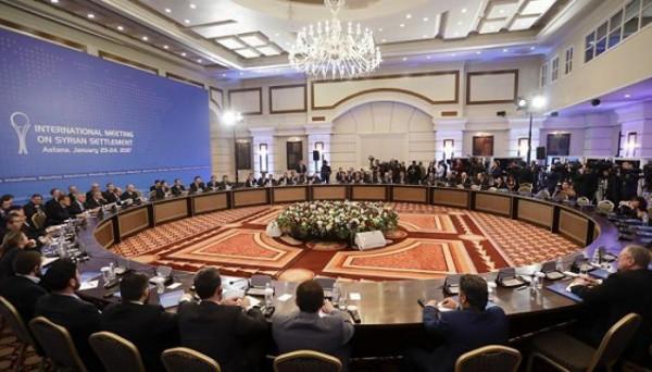 محادثات سلام سورية في كازاخستان الشهر المقبل