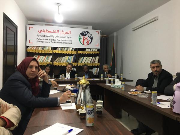 شخصيات من غزة تلتقي أعضاءً ديمقراطيين بالكونجرس الأمريكي عبر تقنية سكايب