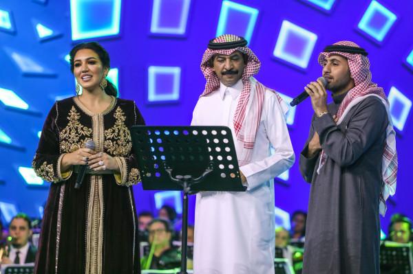 فؤاد عبد الواحد يتألق في حفل موسم الرياض
