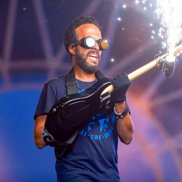 أحمد عصام يقود أوركسترا الألعاب النارية في ختام كأس الأمم الأفريقية