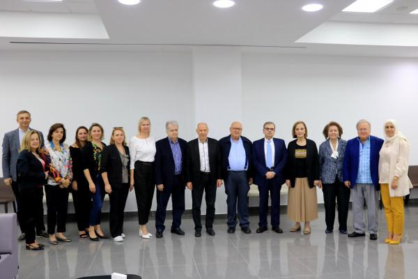 جمعية المواساة في صيدا تستقبل سفير أوكرانيا