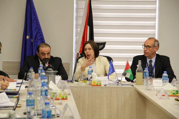 النائب العام يبحث التعاون مع رئيسة لجنة الاتحاد الاوروبي للجوانب المدنية