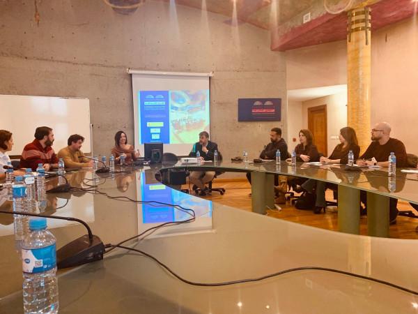 الجامعة العربية الامريكية تبدأ دورة تدريبية في جامعة غرناطة باسبانيا