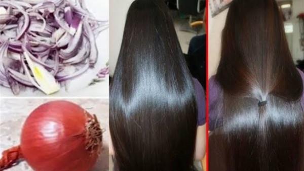 ماء البصل.. الحل الرخيص لإطالة الشعر خلال 30 يوما