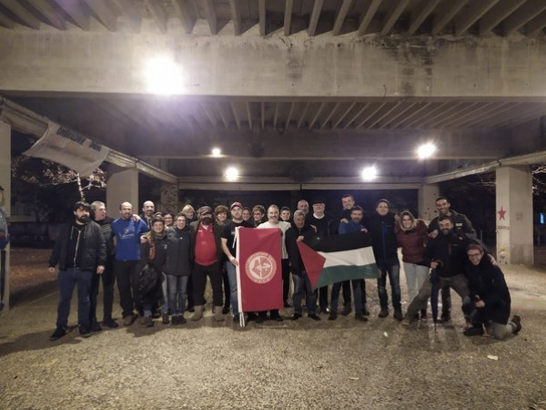الشعبية تشارك في فعاليات التضامن مع الشعب الفلسطيني في إقليم الباسك
