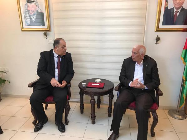 المحافظ حميد يبحث مع وزارة التعليم العالي امكانية فتح مكتب لتصديق الشهادات