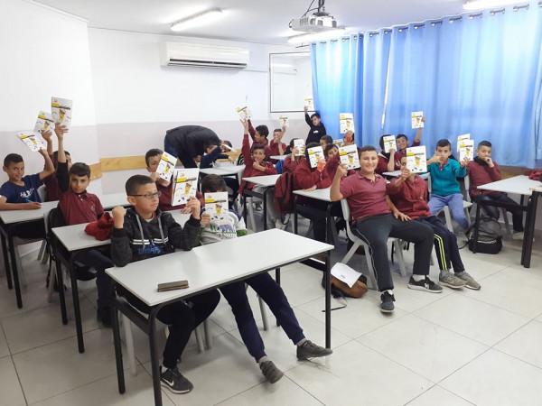 كهرباء القدس تنظم ورشة حول استهلاك الكهرباء والسلامة العامة بمدرسة السواحرة