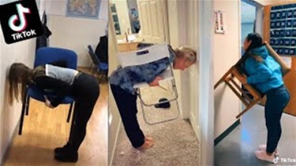Chair Challenge.. تحدٍ جديد صعب على الرجل سهل على النساء