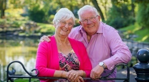 أسعد زوجين في بريطانيا تشاجرا مرة واحدة في 50 عاماً