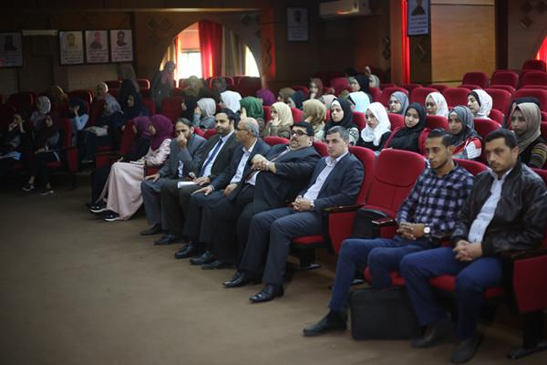 جامعة فلسطين تعرض عدد من أفلام مهرجان القدس السينمائي الدولي