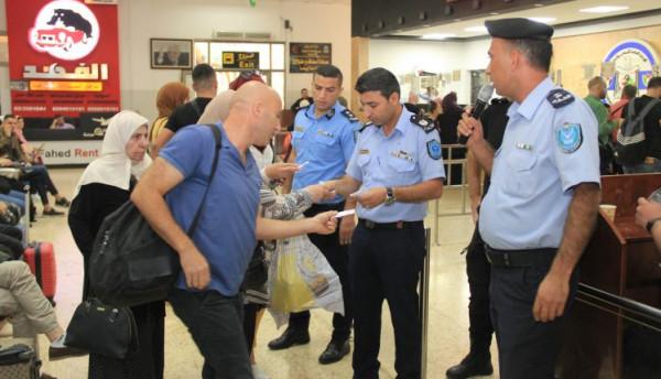 الشرطة: 147 ألف مسافر تنقلوا عبر (معبر الكرامة)