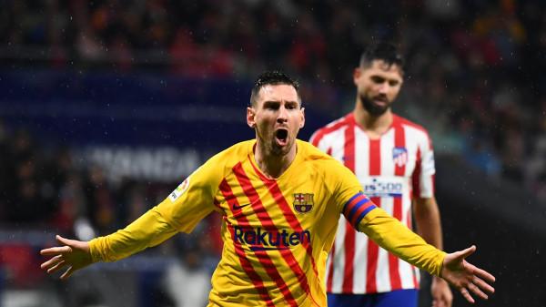 شاهد: رقم جديد لميسي أمام أتلتيكو مدريد