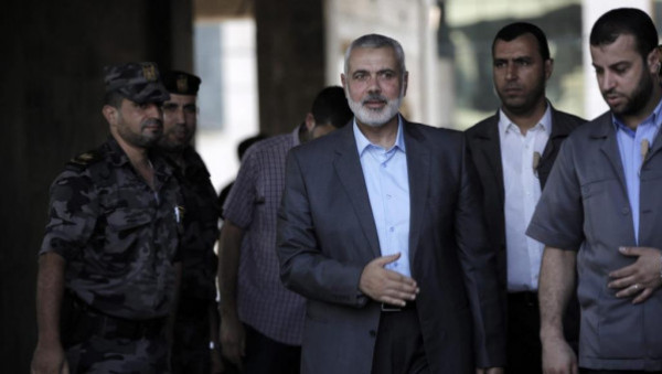 """هنية يصل القاهرة لإجراء مباحثات """"مهمة"""" مع المسؤولين المصريين"""