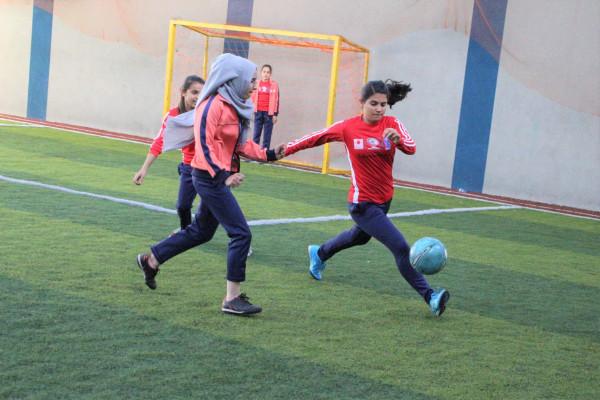 """افتتاح بطولة """"طوكيو1"""" لكرة القدم النسوية بغزة"""