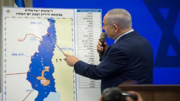 """""""إسرائيل بيتنا"""" وتحالف نتنياهو يسيعان لإصدار قانون """"السيادة الإسرائيلية بالأغوار"""""""