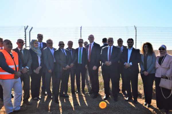 غنيم: المنحة الإيرلندية نقلة نوعية في استدامة مشروع معالجة شمال غزة
