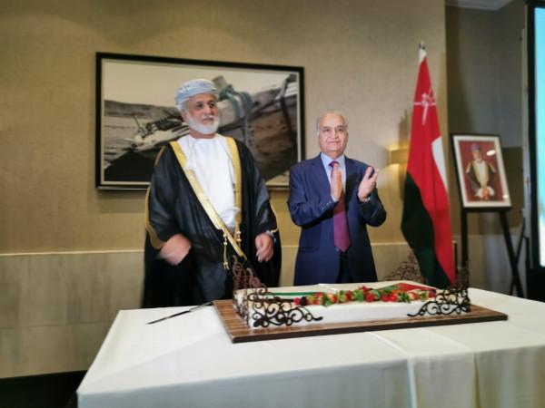 سفارة فلسطين في سلطنة عُمان تحيي اليوم الوطني الفلسطيني