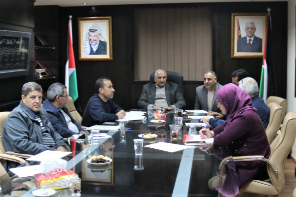اللجنة المقدسية العليا لمكافحة المخدرات تتبنى مبادرة اتحاد لمسعفين العرب