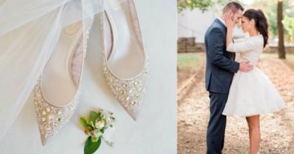 3 نصائح تساعدك على اختيار حذاء مناسب لزفافك إذا كنتِ أطول من خطيبك