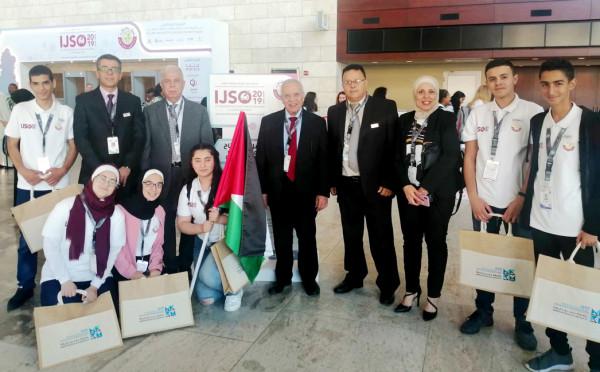 فلسطين تحصد المركز الأول في مسابقة الأفلام التعليمية بقطر  9999012043