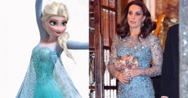 """مشاهير قلدن فستان """"ألسا"""".. من كيت ميدلتون لجنيفر لوبيز"""
