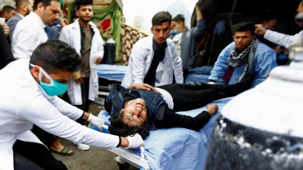 نحو 20 حالة طعن في ساحة التحرير ببغداد