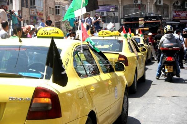 """مناشدات بمخيم بلاطة لإلغاء قرار رفع """"أجرة سرفيس"""""""
