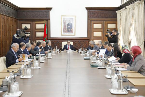 انعقاد الاجتماع الأسبوعي لمجلس الحكومة المغربية