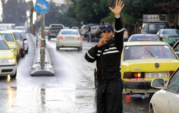 شرطة المرور بغزة تُصدر تنويهاً بشأن إغلاق بعض الطرق