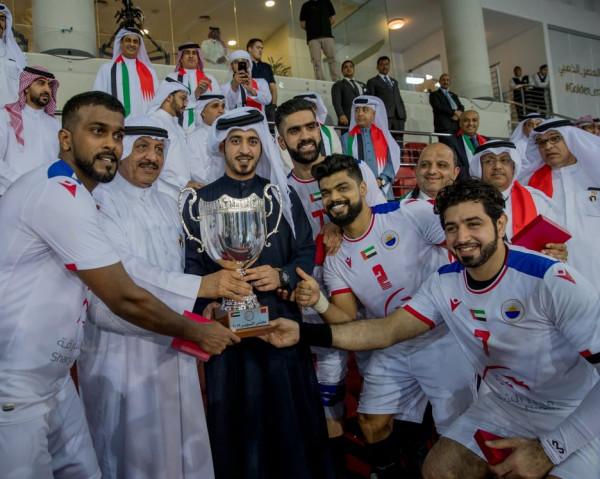 الشارقة يتوج بكأس السوبر الإماراتي البحريني على حساب باربار
