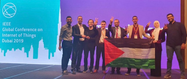 فلسطين تفوز بالمركز الأول في تحدي العرب لإنترنت الأشياء