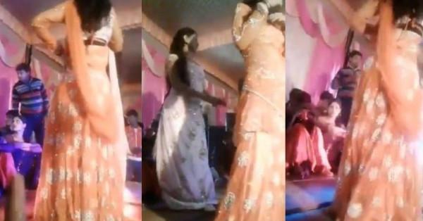 شاهد: لحظة إطلاق النار على راقصة في حفل زفاف بالهند