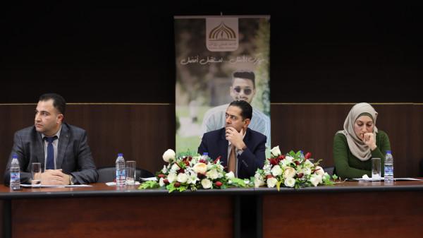 """جامعة فلسطين الاهلية تنظم ورشة عمل حول """"الطاقة المتجددة والاسترشاد الطاقي"""""""