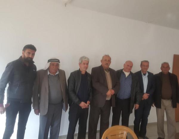 اجتماع لجبهة النضال والتحرير والعربية واللجان الشعبية لحماية المقدسات والاثار