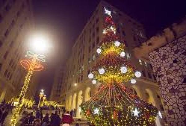 شاهد: مدينة روابي تحتفل بإضاءة شجرة الميلاد