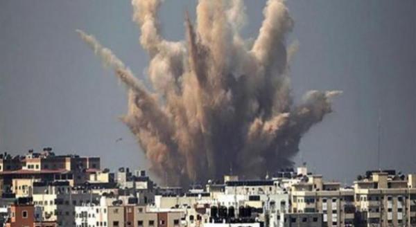 طائرات الاحتلال تقصف عدة أهداف للمقاومة بقطاع غزة