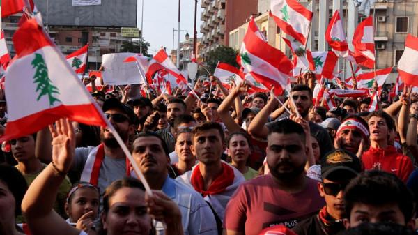 استمرار التظاهرات بلبنان ودعوة لتوفير مستلزمات المواطنين
