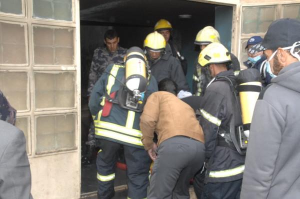 الأردن: إصابة 27 طالباً ومعلماً إثر حريق في مدرسة حكومية