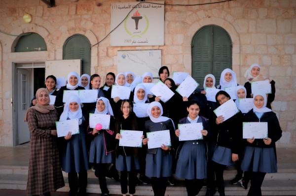 كهرباء القدس وإنجاز فلسطين تختتم البرنامج التطوعي أنا صاحب مشروعي