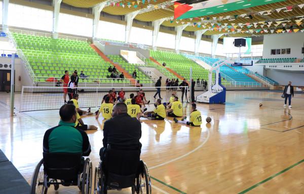 الجامعة العربية الامريكية تستضيف فريق المستقبل لكرة الطائرة