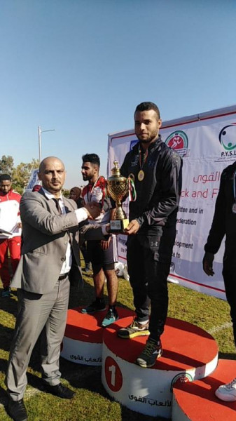 تتويج الجامعة الإسلامية بالمراكز الأولى في بطولة فلسطين المركزية لألعاب القوى
