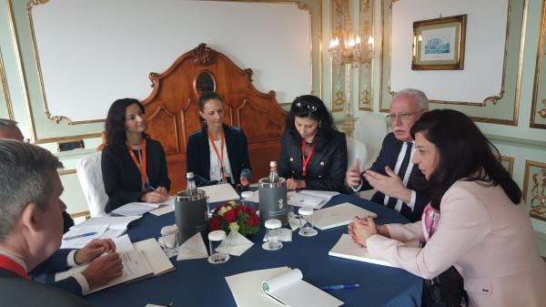 المالكي يبحث مع نظيره السلوفيني التطورات على الساحة الفلسطينية